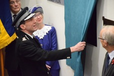 Thames Valley Police Unveil Memorial Plaque