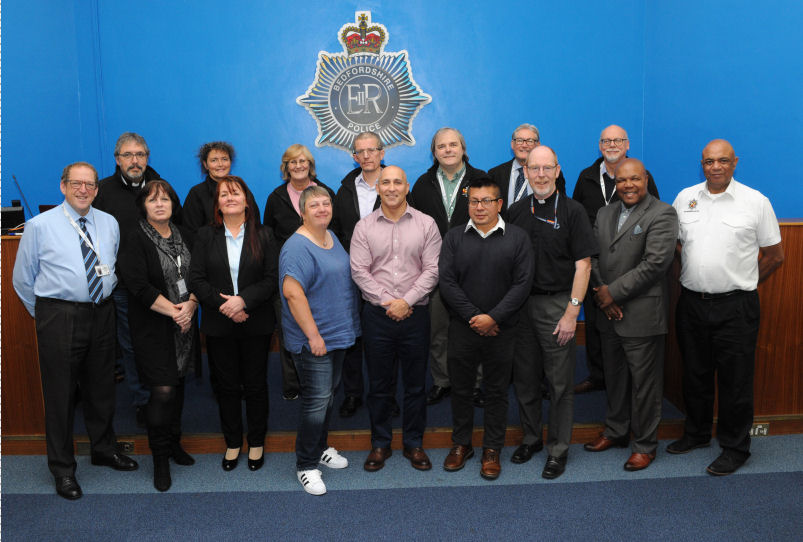 New Chaplains for Bedfordshire Police
